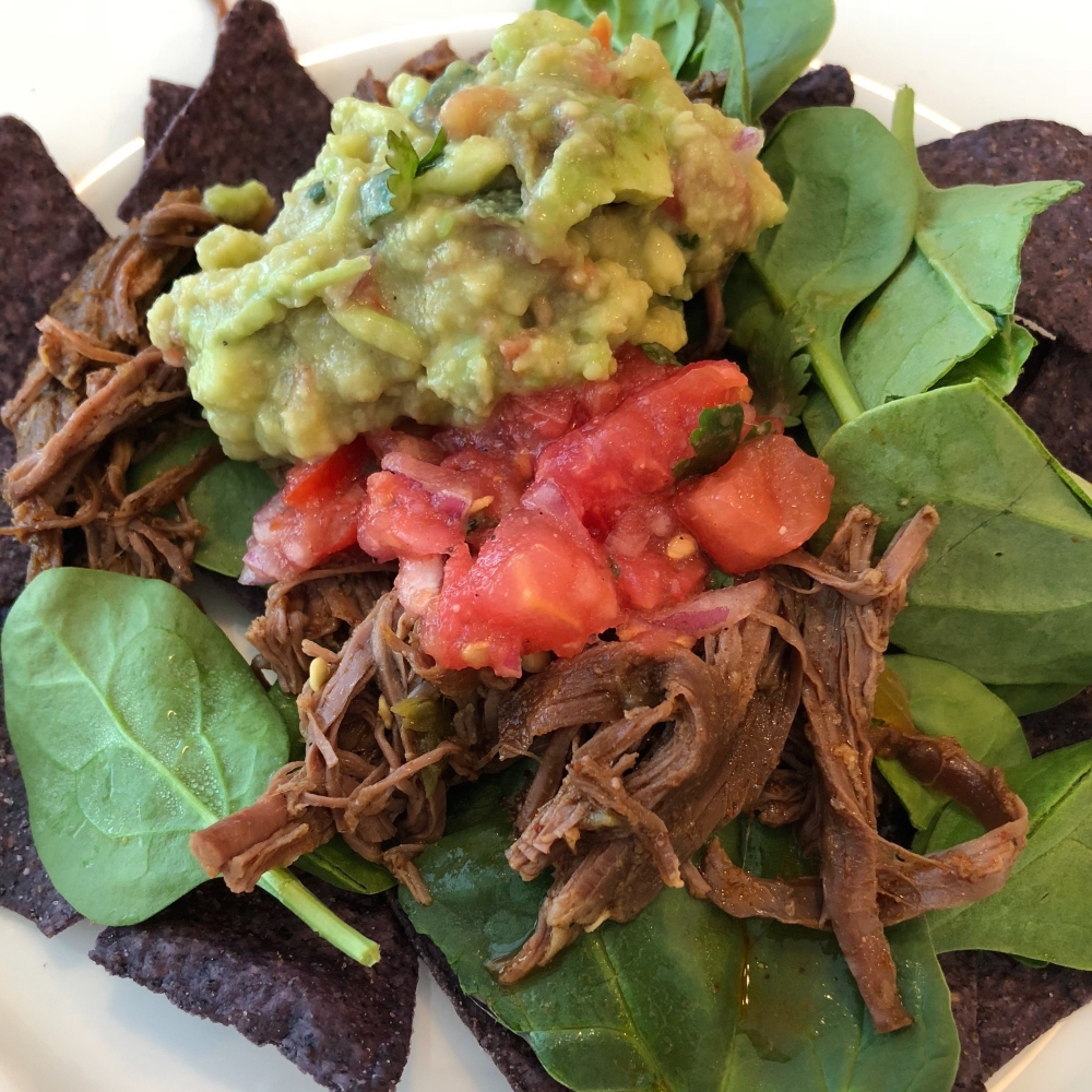 Slow Cooker Shredded Beef Carnitas